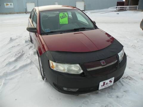 2004 Saturn Ion for sale at J & S Auto Sales in Thompson ND