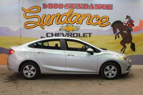 2016 Chevrolet Cruze for sale at Sundance Chevrolet in Grand Ledge MI