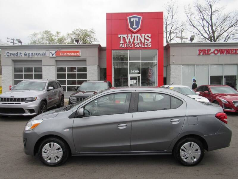 2020 Mitsubishi Mirage G4 for sale at Twins Auto Sales Inc in Detroit MI