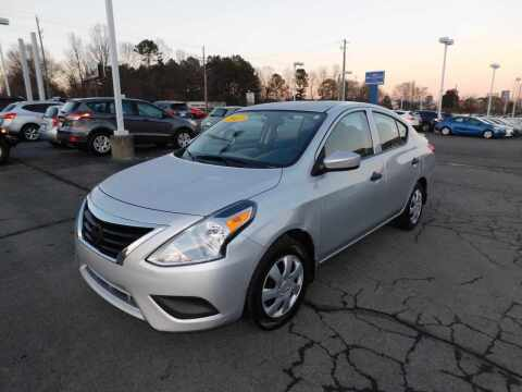 2017 Nissan Versa for sale at Paniagua Auto Mall in Dalton GA