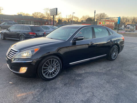 2012 Hyundai Equus for sale at BWK of Columbia in Columbia SC