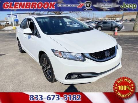 2013 Honda Civic for sale at Glenbrook Dodge Chrysler Jeep Ram and Fiat in Fort Wayne IN