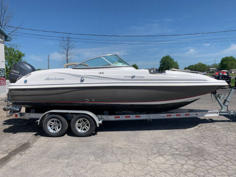 2015 HURRICANE SUNDECK 217 for sale at RS Motorsports, Inc. in Canandaigua NY