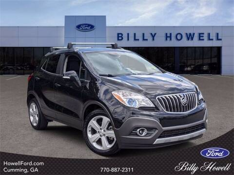 2016 Buick Encore for sale at BILLY HOWELL FORD LINCOLN in Cumming GA