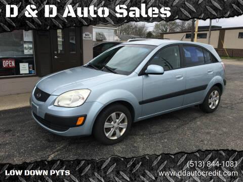 2008 Kia Rio5 for sale at D & D Auto Sales in Hamilton OH