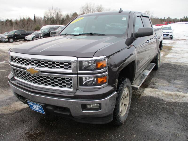 2015 Chevrolet Silverado 1500 for sale at Ripley & Fletcher Pre-Owned Sales & Service in Farmington ME