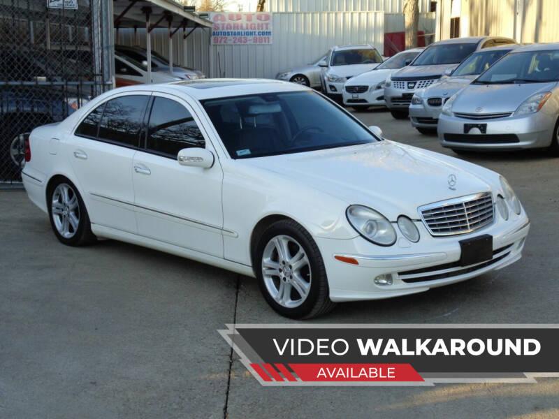 2005 Mercedes-Benz E-Class for sale at Auto Starlight in Dallas TX