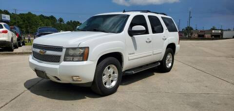2011 Chevrolet Tahoe for sale at WHOLESALE AUTO GROUP in Mobile AL
