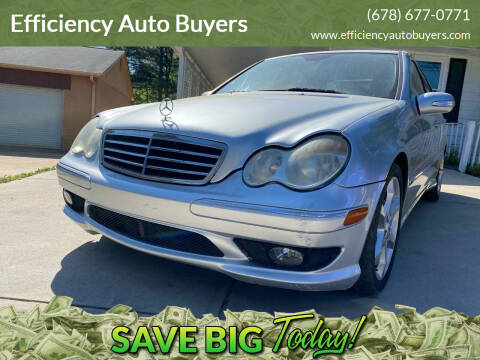 2007 Mercedes-Benz C-Class for sale at Efficiency Auto Buyers in Milton GA
