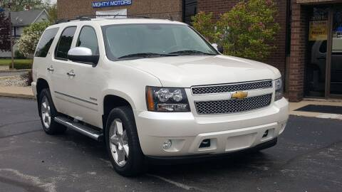 2012 Chevrolet Tahoe for sale at Mighty Motors in Adrian MI