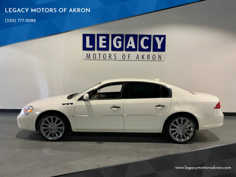 2009 Buick Lucerne for sale at LEGACY MOTORS OF AKRON in Akron OH