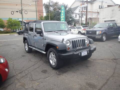 2013 Jeep Wrangler Unlimited for sale at 103 Auto Sales in Bloomfield NJ