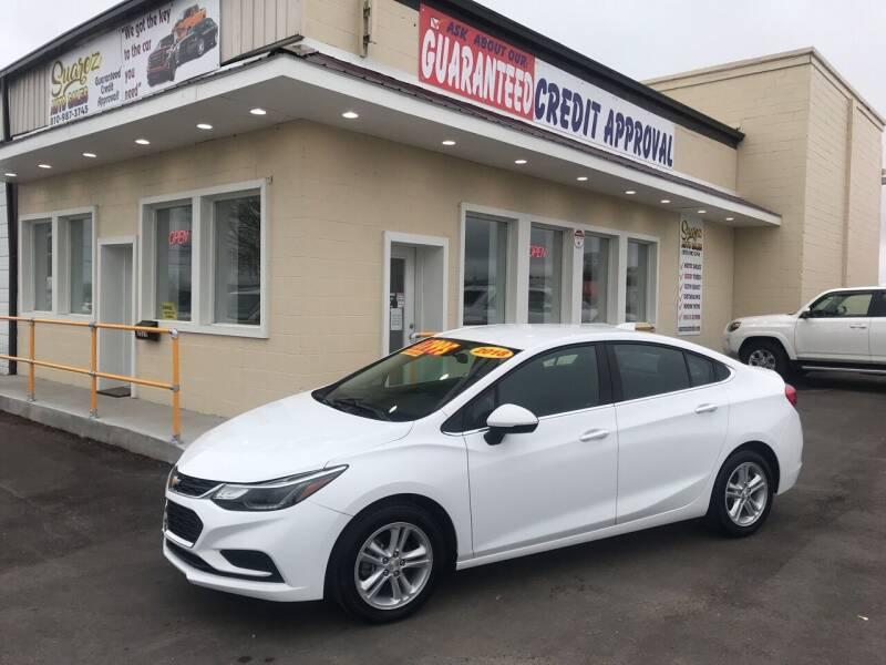 2018 Chevrolet Cruze for sale at Suarez Auto Sales in Port Huron MI