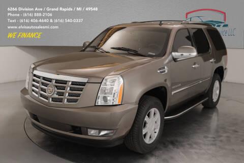 2011 Cadillac Escalade for sale at Elvis Auto Sales LLC in Grand Rapids MI