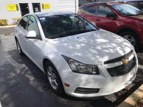 2013 Chevrolet Cruze for sale at FLORIDA CAR TRADE LLC in Davie FL