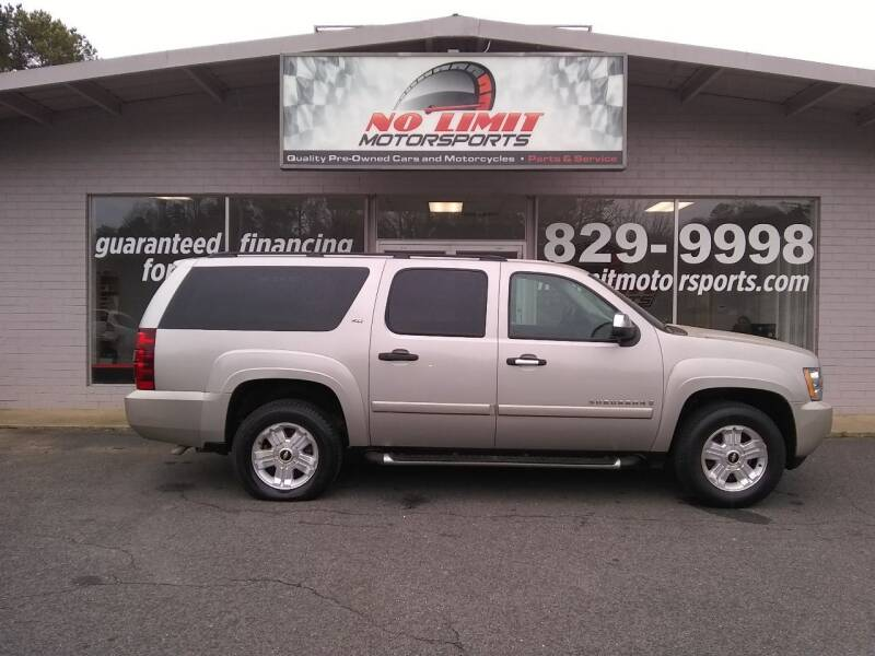 2008 Chevrolet Suburban for sale at NO LIMIT MOTORSPORTS in Belmont NC