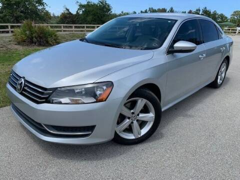 2012 Volkswagen Passat for sale at Deerfield Automall in Deerfield Beach FL