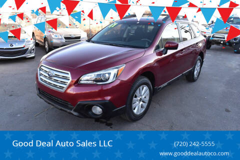 2017 Subaru Outback for sale at Good Deal Auto Sales LLC in Denver CO