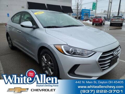 2018 Hyundai Elantra for sale at WHITE-ALLEN CHEVROLET in Dayton OH