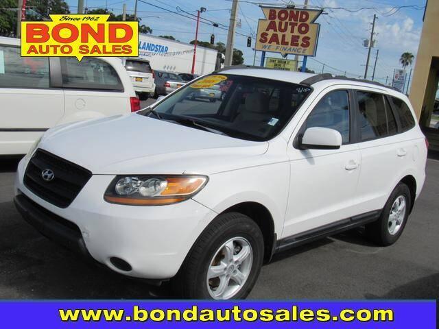 2008 Hyundai Santa Fe for sale at Bond Auto Sales in Saint Petersburg FL