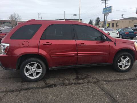 2005 Chevrolet Equinox for sale at Major Motors in Twin Falls ID