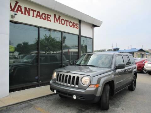 2014 Jeep Patriot for sale at Vantage Motors LLC in Raytown MO
