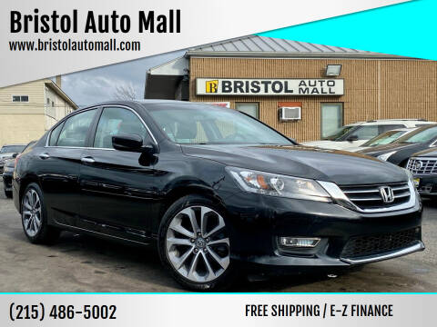 2013 Honda Accord for sale at Bristol Auto Mall in Levittown PA