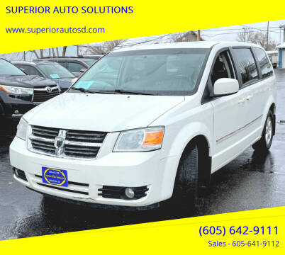2008 Dodge Grand Caravan for sale at SUPERIOR AUTO SOLUTIONS in Spearfish SD