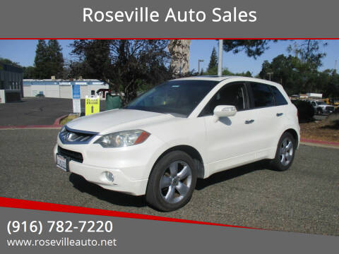 2009 Acura RDX for sale at Roseville Auto Sales 131 in Roseville CA