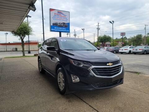 2018 Chevrolet Equinox for sale at Magic Auto Sales in Dallas TX