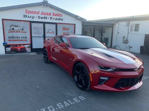 2017 Chevrolet Camaro for sale at Speed Auto Sales in El Cajon CA