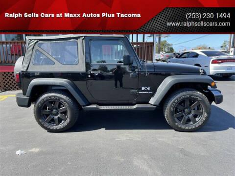 2009 Jeep Wrangler for sale at Ralph Sells Cars at Maxx Autos Plus Tacoma in Tacoma WA