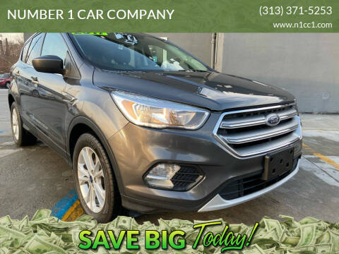 2017 Ford Escape for sale at NUMBER 1 CAR COMPANY in Detroit MI