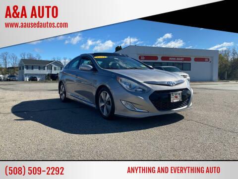 2011 Hyundai Sonata Hybrid for sale at A&A AUTO in Fairhaven MA