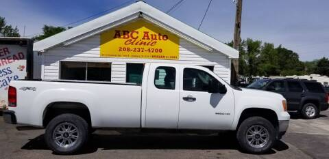 2011 GMC Sierra 2500HD for sale at ABC AUTO CLINIC - Chubbuck in Chubbuck ID