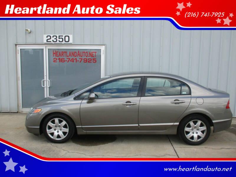 2006 Honda Civic for sale at Heartland Auto Sales in Medina OH