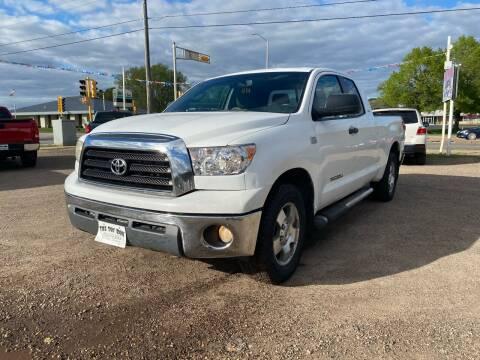 2007 Toyota Tundra for sale at Toy Box Auto Sales LLC in La Crosse WI