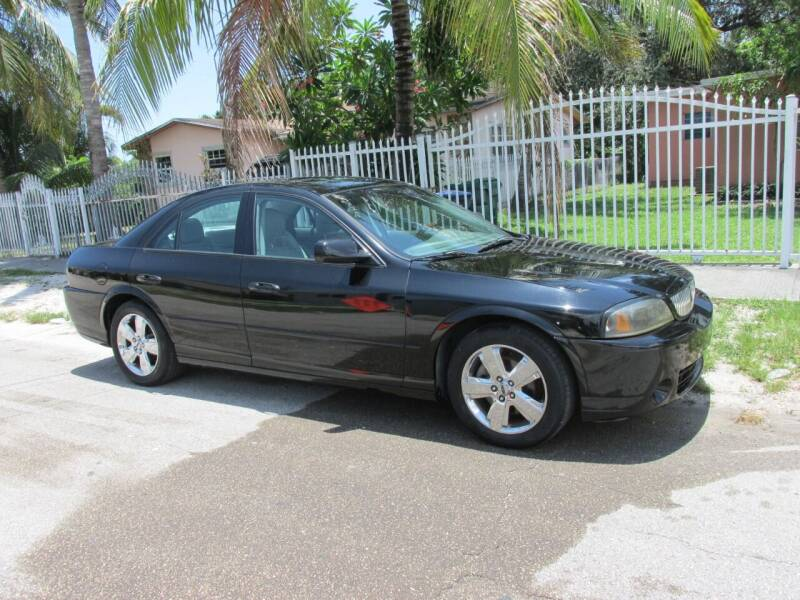 2006 Lincoln LS for sale at TROPICAL MOTOR CARS INC in Miami FL