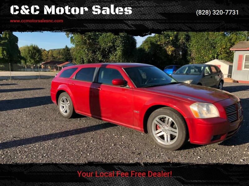 2006 Dodge Magnum for sale at C&C Motor Sales LLC in Hudson NC