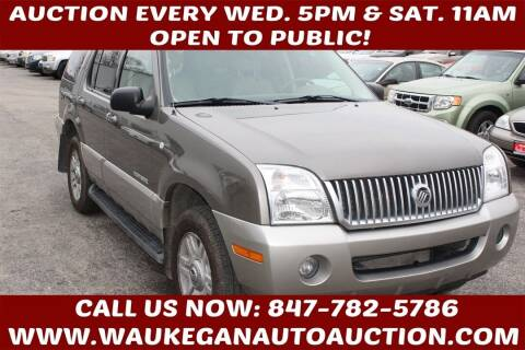 2002 Mercury Mountaineer for sale at Waukegan Auto Auction in Waukegan IL
