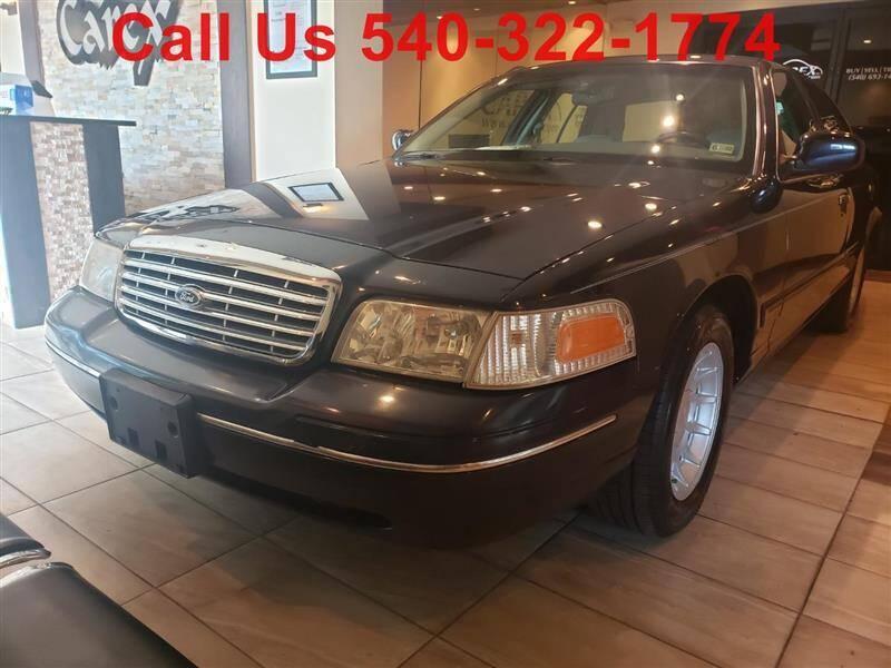 2002 Ford Crown Victoria for sale in Fredericksburg, VA