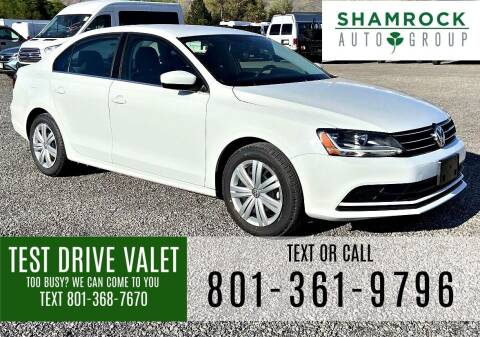2017 Volkswagen Jetta for sale at Shamrock Group LLC #1 in Pleasant Grove UT
