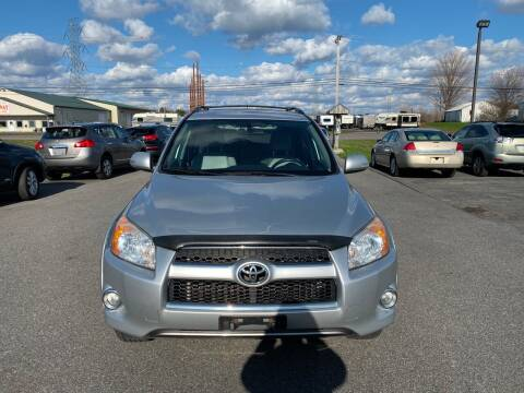 2011 Toyota RAV4 for sale at Paul Hiltbrand Auto Sales LTD in Cicero NY