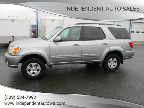 2004 Toyota Sequoia for sale at Independent Auto Sales in Spokane Valley WA
