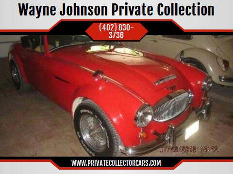 1967 Austin Healey 3000 Sebring Kit Car for sale at Wayne Johnson Private Collection in Shenandoah IA