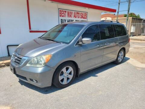 2009 Honda Odyssey for sale at Best Way Auto Sales II in Houston TX