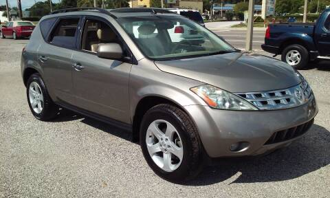 2004 Nissan Murano for sale at Pinellas Auto Brokers in Saint Petersburg FL