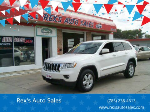 2012 Jeep Grand Cherokee for sale at Rex's Auto Sales in Junction City KS
