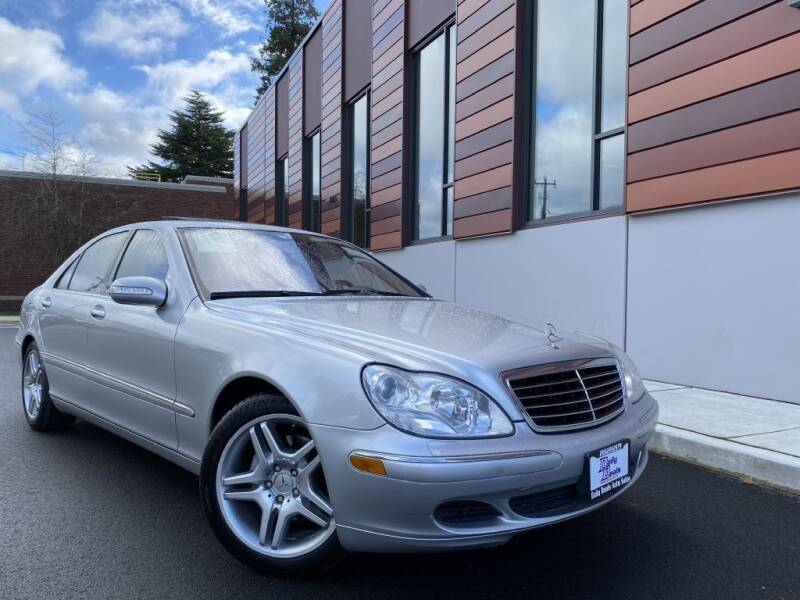 2004 Mercedes-Benz S-Class for sale at DAILY DEALS AUTO SALES in Seattle WA