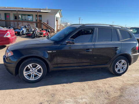 2005 BMW X3 for sale at PYRAMID MOTORS - Fountain Lot in Fountain CO